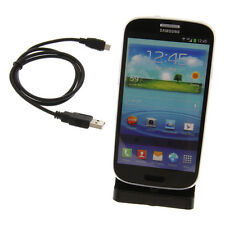 USB Dockingstation für Samsung Galaxy / Note Hotsync Docking Wave Tisch Halter