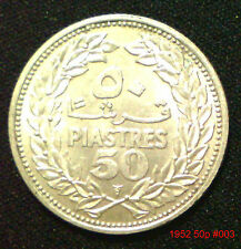 LEBANON  Silver Coins Choice of coins supplied in coin wallet