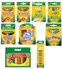 Crayola Coloured Pencils/Wax Crayons/Colouring Pen/Felt Tips or Washable Markers