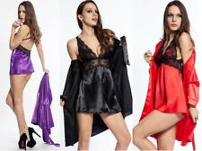 SEXY Babydoll and Robe Lingerie SET 10 12 14 16 18 20 PERFECT Gift