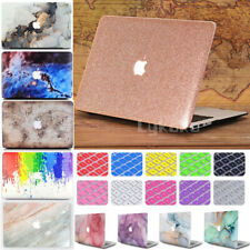 Rubberized Hard Case Cover + Keyboard Cover For MacBook Air Pro 11 13 15 '' inch
