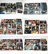 Star Trek Trading Card Sets  ENTERPRISE DS9  Next Generation  Motion Pictures
