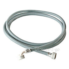 Washing Machine Water Fill Hose Pipe Cold Hot Inlet Elbow 90º Straight Long