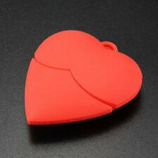 USB 2.0 Corazón Red Heart 4/8/16/32GB Flash Pen Drive Memory Memoria Stick Thumb