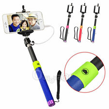 Extendable Shutter Handheld Selfie Stick Self portrait Monopod for Samsung iPhon