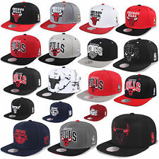 MITCHELL & NESS AND SNAPBACK CAP CHICAGO BULLS LA KINGS NETS BEANIE RED BULL NY