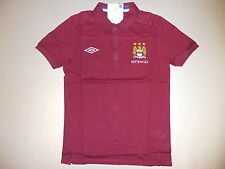 Polo Shirt Manchester City 10/11 Orig. Umbro Gr S neu