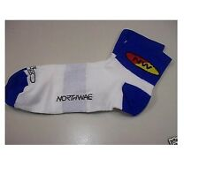 Calze Calzini Northwave Comp White/Royal/SUMMER SOCKS NORTHWAVE COMP WHITE/ROYAL
