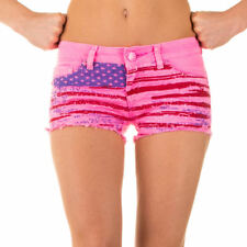 NEU  DAMEN t75b SIMPLY CHIC USED HOT PANTS SHORTS Pink
