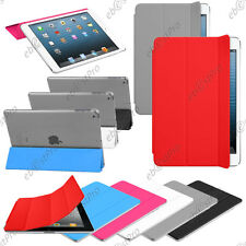 Housse Coque Etui Support SmartCover PU Cuir Tablette Apple iPad Mini 3 2 Retina