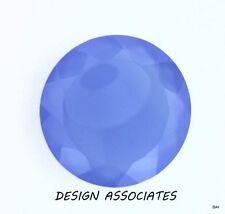 DARK BLUE CHALCEDONY 15 MM ROUND OUTSTANDING BLUE COLOR