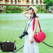 Waterproof Women micro-camera Shoulder Messenger Bag Case For Canon Sony Nikon