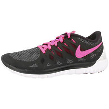 NIKE FREE 5.0 WOMEN'S SHOES RUNNING SHOES BLACK PINK 642199-062 RUN 5.0+ 4.0