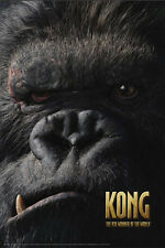 King Kong - Face - Film Movie Kino Film Movie - Poster Druck - Größe 61x91,5 cm
