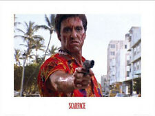 Scarface - Pistol - Film Movie Kino Poster Kunstdruck