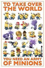 Despicable Me - 2 - Take Over The World - einfach unverbesserlich Poster