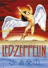 Led Zeppelin - Swan Song - Musik Classic Rock Band - Poster Druck 61x91,5 cm