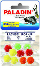 10 x Lachsei Trout fishing Pop Up Popup Sturgeon Trout bait