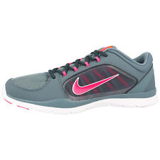 NIKE FLEX TRAINER 4 WOMEN'S LADIES RUNNING SHOES BLUE GRAPHITE 643083-404 RUN