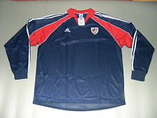 Spieler Trikot Atletico Bilbao Away LS 99/00 Orig adidas Gr L XL player issue