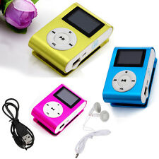 Metal Skin Shell Clip Digital MP3 Player Skin LCD Screen For 2/4/8/16GB TF Card