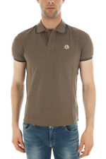 POLO MONCLER Polo Shirt % UOMO Marrone 830430084093-829