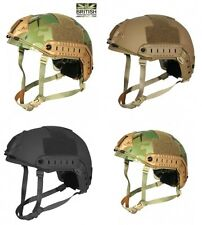 Army Combat Military Fast British Assault M88 US Swat Helmet Black Camo Replica