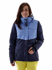 Brunotti Skijacke Jitori blau winddicht 5K Kapuze Thermo Snow Catcher