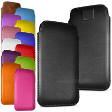 Stylish PU Leather Pull Tab Case Cover Pouch For Sony Xperia SP