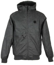 Cleptomanicx POLARZIPPER HEMP 2 Jacke heather dark gray