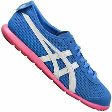 ASICS ONITSUKA TIGER RIO RUNNER D377Y-4201 SNEAKER  SCHUHE MEXICO 66 BLAU PINK