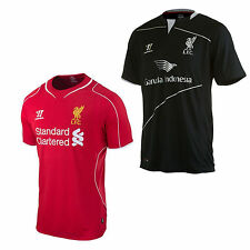 Warrior Liverpool FC MAGLIA BAMBINI PREMIER LEAGUE SHIRT HOME TRAINING JERSEY
