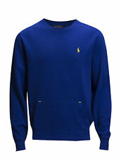 Ralph Lauren Golf Mens Long Sleeve Top Sweater Jumper Sapphire Star - Royal Blue