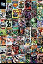 New DC Comics The Worlds Greatest Super Heroes DC Universe Montage Poster