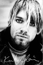 New Nirvana Kurt Cobain Grunge Hero Poster