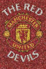 New The Red Devils Mosaic Manchester Utd Poster