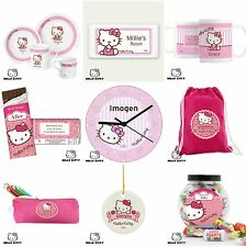 Personalised Hello Kitty Gifts Presents for Girls Women Birthday Xmas Christmas