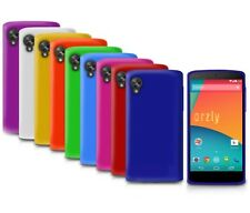 LOT DE 10 LG GOOGLE NEXUS 5 GEL COQUE NOIR ROUGE ROSE POURPRE BLEU BLANC ETC