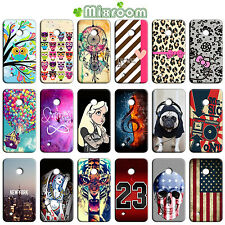 CUSTODIA COVER CASE MORBIDA IN TPU SILICONE PER NOKIA LUMIA 530 N530 FANTASIE C