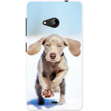 Weimaraner Vorstehhund Grey Ghost Dog Hard Case For Microsoft Lumia 535