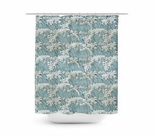 Japanese Wave Illustration Shower Curtain - Vibrant Prints in 4 sizes for any Ba