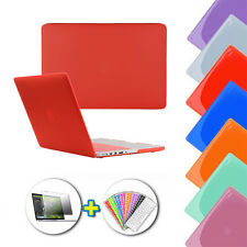 """Rubberized Hard Shell Case Cover Keyboard For Macbook Air 13 11 Pro 13 15""""Retina"""