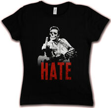JOHNNY HATE HC HATE COUTURE GIRLIE SHIRT - Psychobilly Country Cash Music Trash