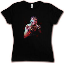 HATE ZOMBIE I HC HATE COUTURE GIRLIE SHIRT The Gothic Walking Vampire Evil Dead