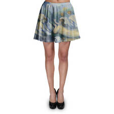 Cezanne Bathers Art Painting Skater Skirt XS-3XL Stretch Flared Short Skirt