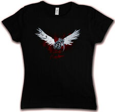 WINGED GRENADE HC 83 HATE COUTURE GIRLIE T SHIRT Granate War Army Bomb Tattoo