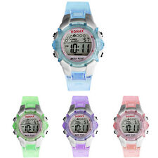 Waterproof Kids Girls Watch Boy Digital LED Quartz Alarm Date Sports Wrist Watch
