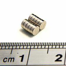 Neodymium Disc Magnets 3mm Dia x 1mm Thick Grade N50 Small & Strong Round Magnet