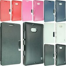 NEW POUCH CASE COVER FOR NOKIA LUMIA ICON 930 929 WALLET FLIP SMART LEATHER SM01