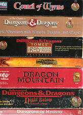 TSR DUNGEONS & DRAGONS BOXED SETS MULTI LISTING VGC + DECKS  CARDS COMPLETE BOX